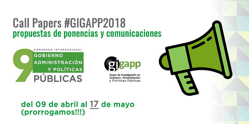 banner CallPapersGIGAPP2018 3 Twitter 17may