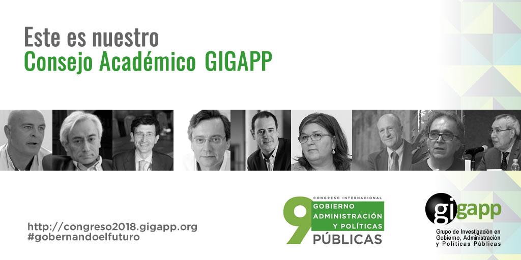 banner ConsejoAcademicoGIGAPP2018 Twitter