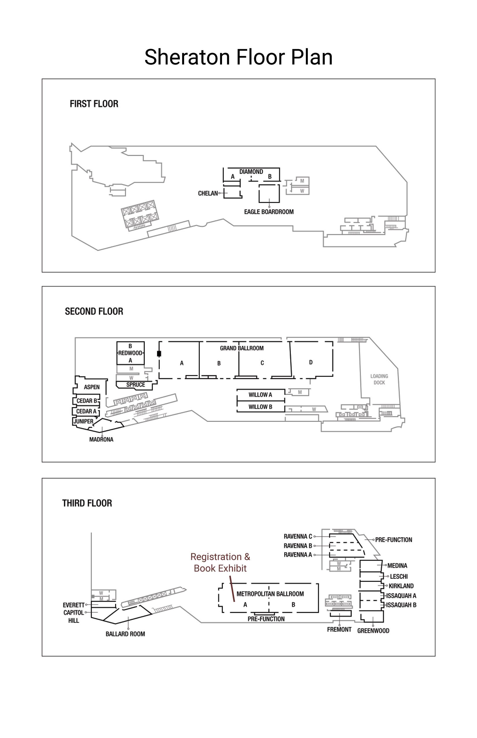 Sheraton Floor Plan 1