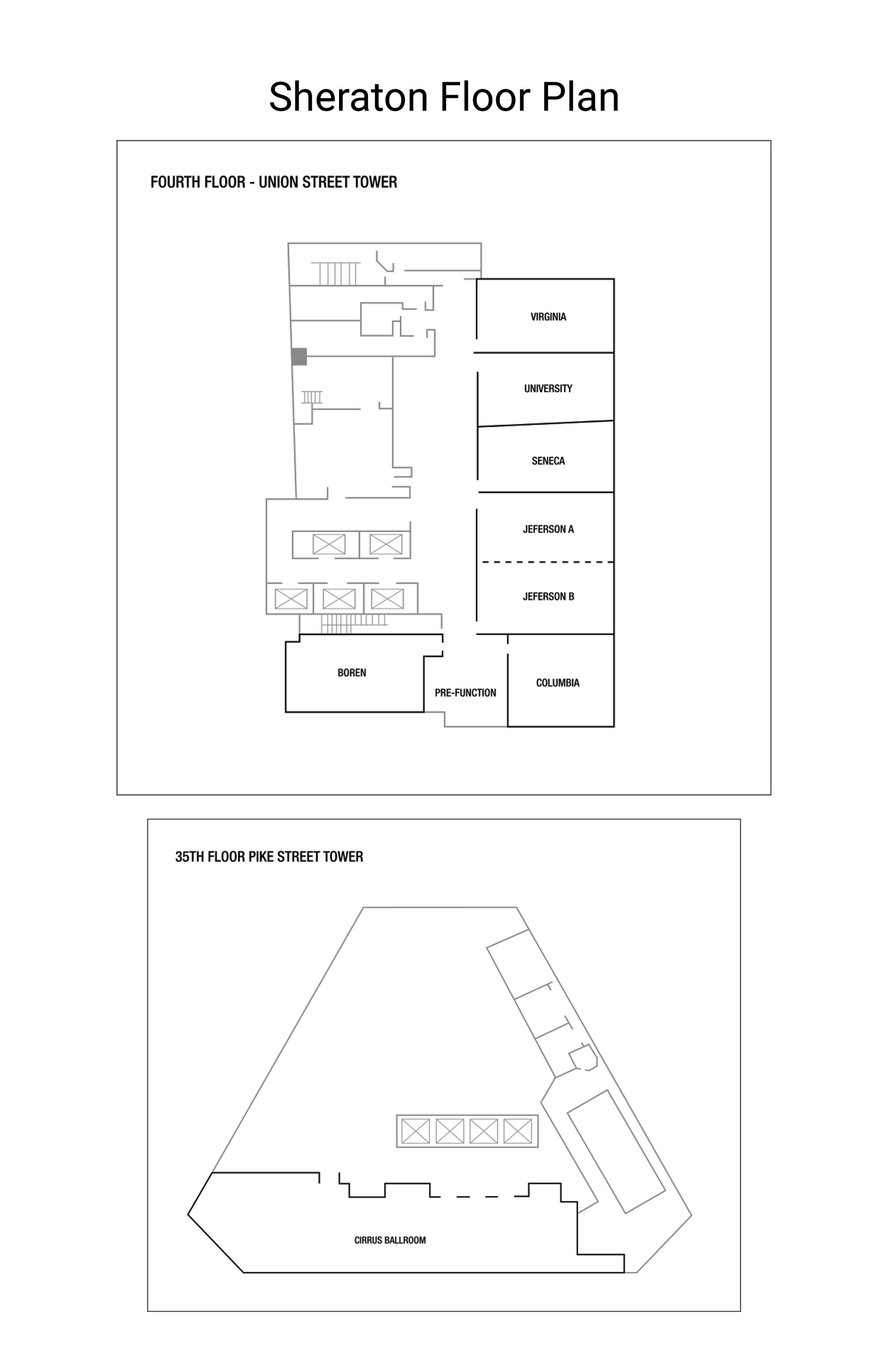 Sheraton Floor Plan 2