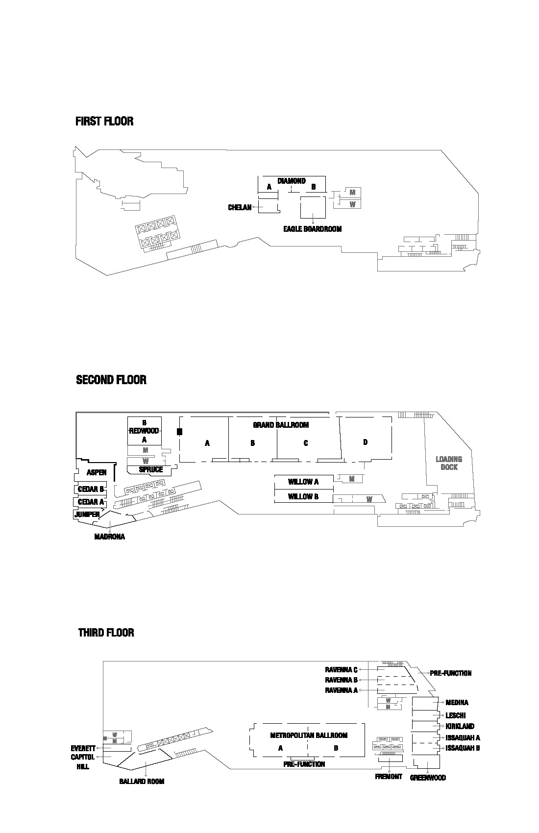 Sheraton Floor Plan Page 1