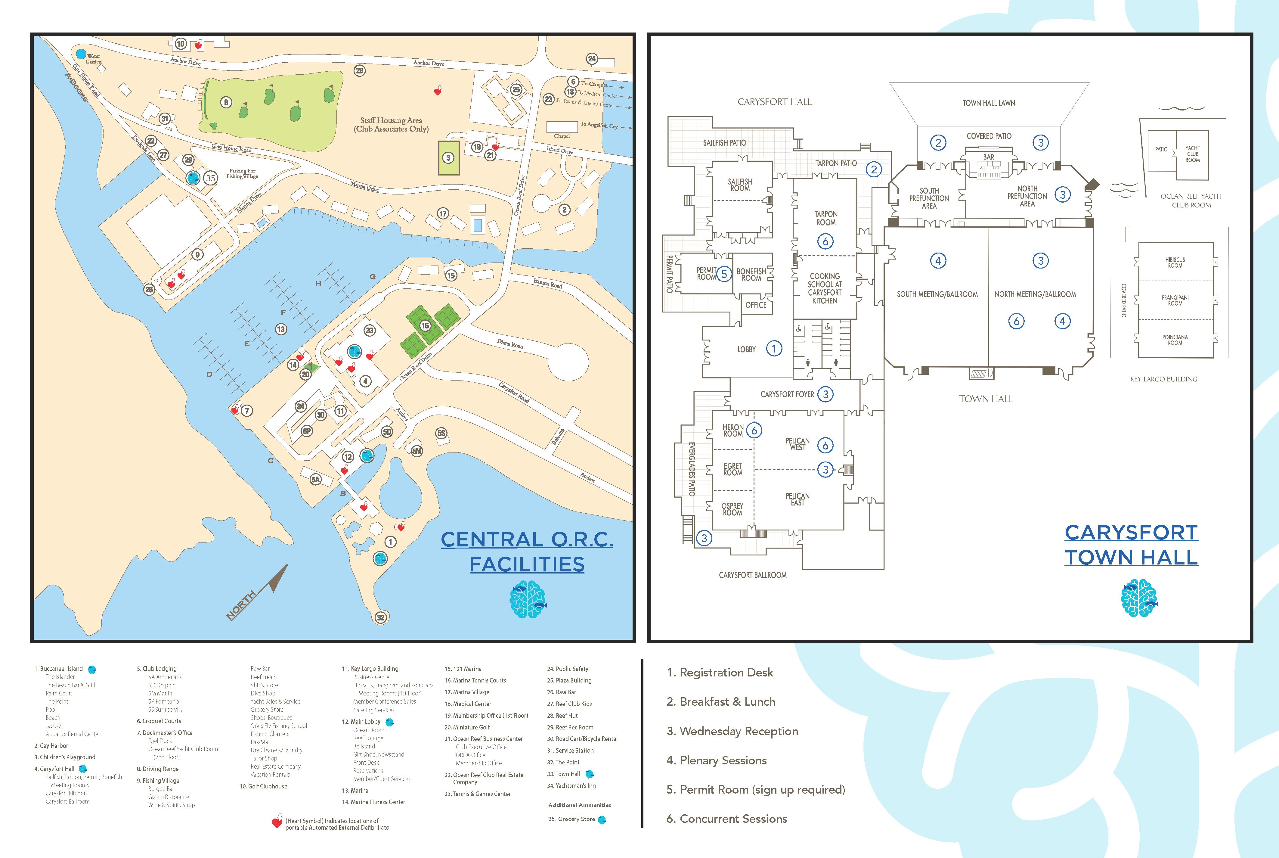 ORC Venue Map